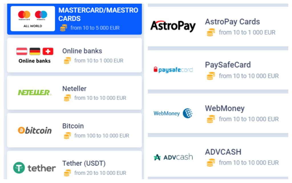 cybetbet payment options